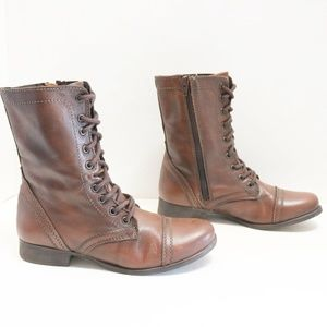 """Steve Madden """"Troopa"""" boots size 8.5"""
